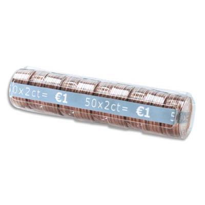 Etuis à monnaie Reskal The Container - pour pièces 0,02  E - contient 50 pièces - boîte de 100 étuis (photo)