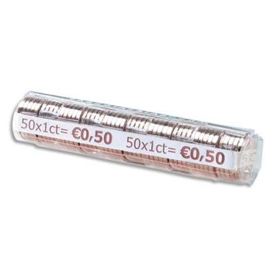 Etuis à monnaie Reskal The Container - pour pièces 0,10  E - contient 50 pièces - boîte de 100 étuis (photo)