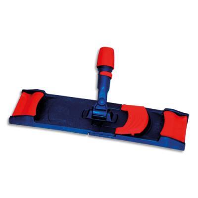 Support de lavage à plat Brosserie Thomas - plastique - pour système frange à languette - L40 x H6 x P13 cm