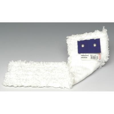 Frange de rechange Brosserie Thomas - microfibre à bouclettes - 40 x 17 cm - v - blanc