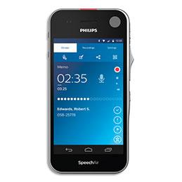 Enregistreur Philips Pocket Memo tactile PSP2100/00 - wifi (photo)