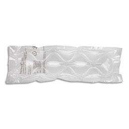 Rouleau coussin d'air - grosse bulle - 40 microns - L200 m x H40 cm - PE-BD - prédécoupé 15 cm - transparent