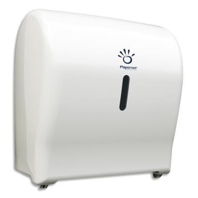 Distributeur Papernet Mini Autocut - ABS - L31,4 x H33 x P20,4 cm - pour essuie-mains en rouleau (photo)