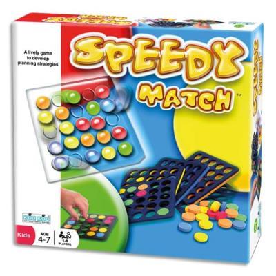 Speedy Match Culture Club - pour 5 enfants et plus - séquences couleurs à reproduire - plaques et fiches idées - boîte de 5