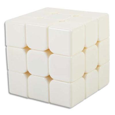 Cube puzzle Graine Créative à décorer - blanc (photo)