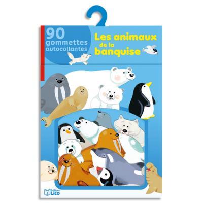 Gommettes Lito Diffusion - thème les animaux de la banquise - lot de 100 (photo)