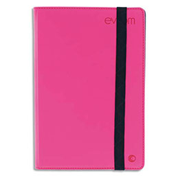 Etui universel Mobility Lab pour tablettes 7'' - 8'' - rose fluo (photo)
