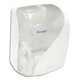 Distributeur Lucart Identity - ABS - L40 x H25,1 x P30,5 cm - pour essuie-mains - transparent (photo)