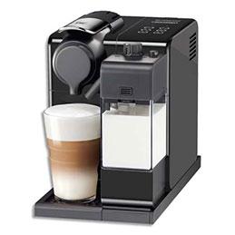 Machine à café Delonghi Nespresso Latissima Touch - 1400W - L17,3 x H25,8 x P32 cm - réservoir eau 0,9 L - noire (photo)