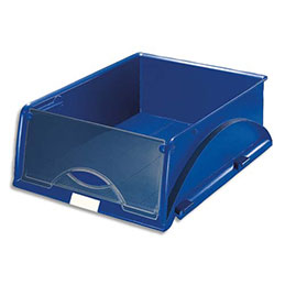 Corbeille Leitz Sorty - A4 - L28,5 x H12,5 x P38,5 cm - bleu (photo)