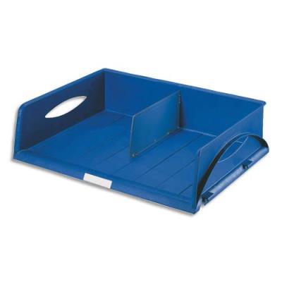 Corbeille Leitz Sorty - format paysage A3 jumbo - L 50,7 x H 12,7 x P 50,7 cm - bleu (photo)