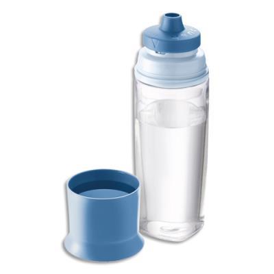 Bouteille Maped Concept adulte - 500 ml - en tritant en PP - sans BPA - système anti-goutte - bleu orage (photo)