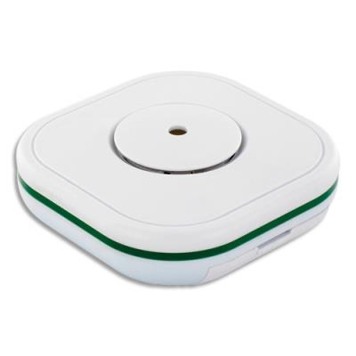 Détecteur monoxyde de carbone Lifebox Smart - 2 piles AA - 85 dB à 1 m - blanc - L9,5 x H3,4 x P9,5 cm