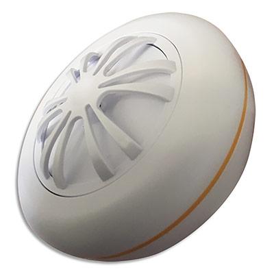 Détecteur chaleur Lifebox Smart CE - 2 piles AA - 85 dB à 3 m - blanc - diamètre 10 cm - hauteur 4 cm