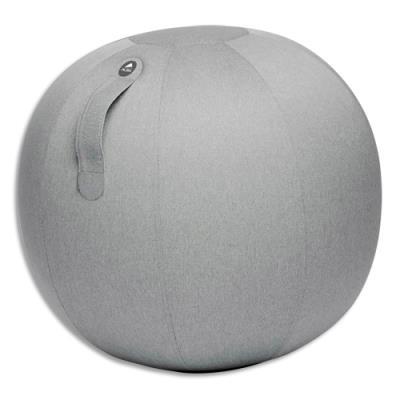Ballon Alba Ball Move Up - résistant - anti-éclatement - gonflable - poignet de transport - gris clair - D65 cm
