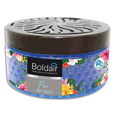 Perles parfumantes Boldair Fleur des Lagons - couvercle réglable - professional - pot de 300 g