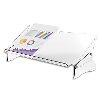 Support porte-document Fellowes Clarity (photo)