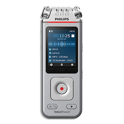 Enregistreur numérique Philips Voice Tracer Num DVT4110 - 8 Go (photo)