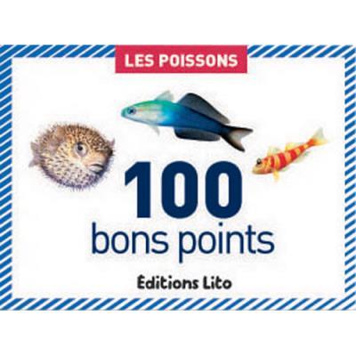 Boite de 100 bons points les poissons (photo)