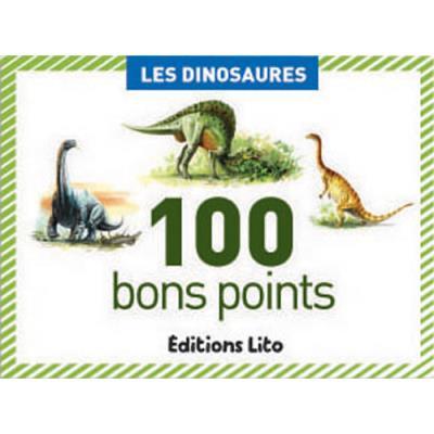 Boite de 100 bons points les dinosaures (photo)
