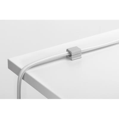 Clips adhésifs pour câble Cavoline Clip Pro 2 - gris - pack de 4 (photo)