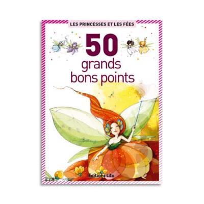 Boite de 50 grandes images Princesses et fées (photo)