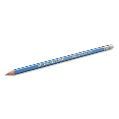 Crayon à papier Bic Evolution Triangle - résine de synthèse - mine HB - tête gomme