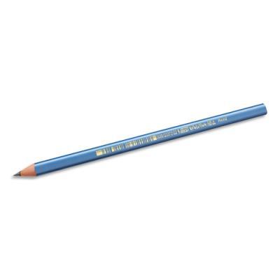 Crayon à papier Bic Evolution Triangle - résine de synthèse - mine HB - tête coupée
