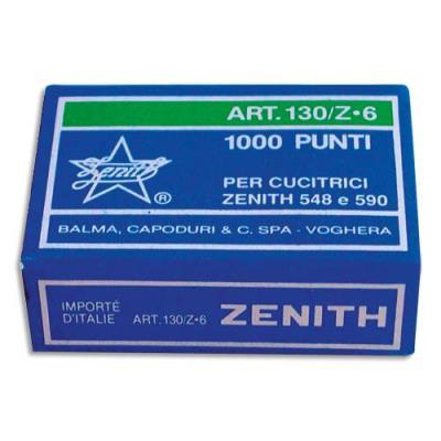 Agraphes Zenth 6/6 - acier galvanisé - boîte de 1000