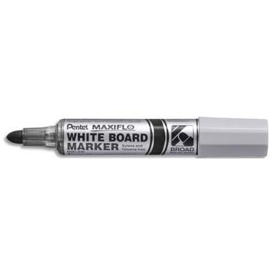 Marqueur effaçable à sec Pentel Maxiflo - pointe ogive extra-large 4 mm - encre noire