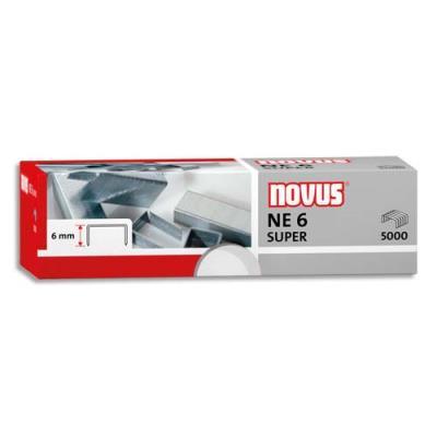 Agrafes Novus Ne6 -pour agrafeuse électrique Novus b100el