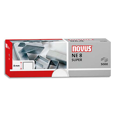 Agrafes Novus Ne8 - pour agrafeuse électrique Novus b100el