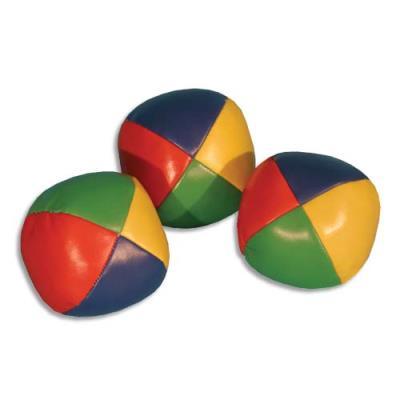 Balles à grains, de jonglage, le lot de 12 pcs. + explications