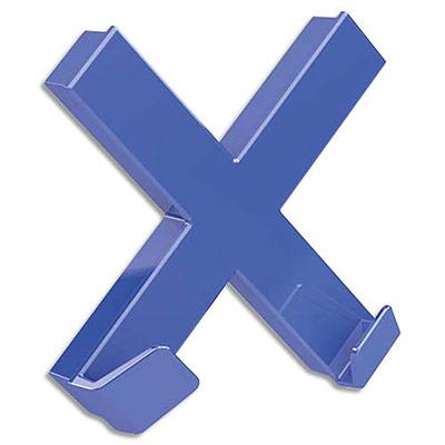 Aimant Dahle mega magnet xl  - 90 x 90mm - Croix bleu