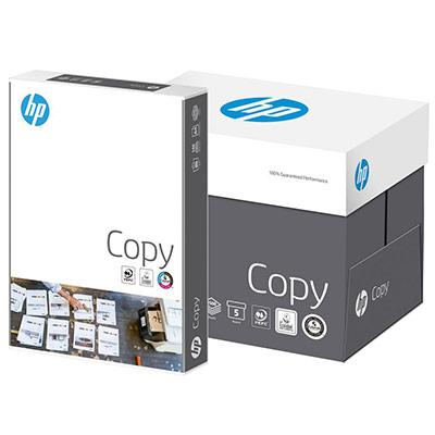 Papier A4 blanc 80g HP Copy - ramette de 500 feuilles - boîte 5 x 500 feuilles (photo)