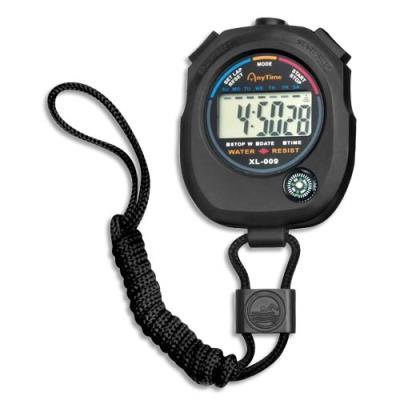 Chronomètre digital, date et heure
