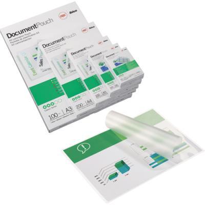 Pochettes de plastification standard GBC - A6 - 125 microns - pack de 100