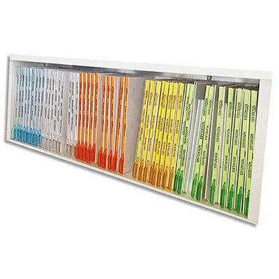 Chemise Novaclass - carte pelliculé avec maintien télescopique - boîte de 25 - coloris assortis