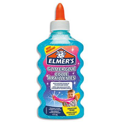 Colle à paillettes Elmers - bleu - 177 mL