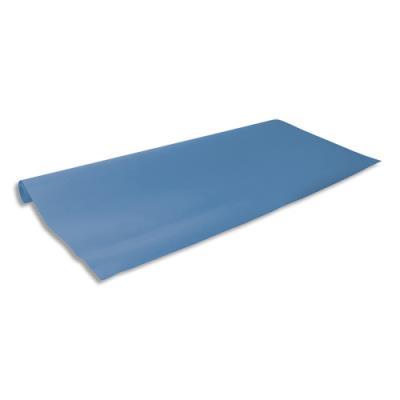 Rouleau de papier kraft bleu  0.68 x 3 m - en kraft 65 g
