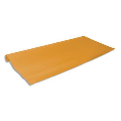 Rouleau de papier kraft orange 0.68 x 3 m - kraft 65 g