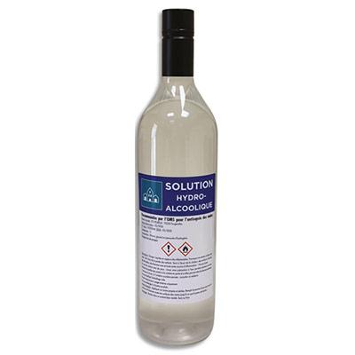 Solution hydroalcoolique pour la désinfection des mains et des surfaces - 1L