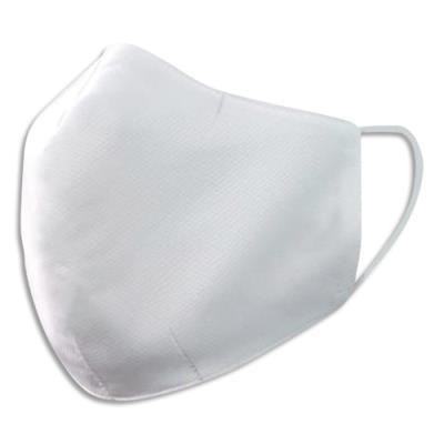 Masque en tissu barrière textile déperlant - résistant à l'eau - 30 lavages