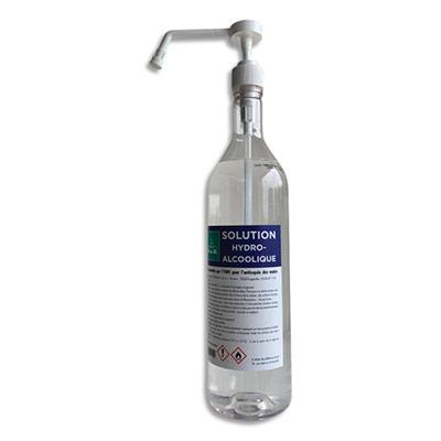 Solution hydrocalcoolique 80% - 1L - lot de 6