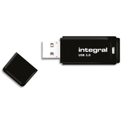 Clé USB 3.0 Integral - 64 Go - noir (photo)