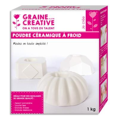 Boîte de 1kg de céramique à froid aspect porcelaine (photo)