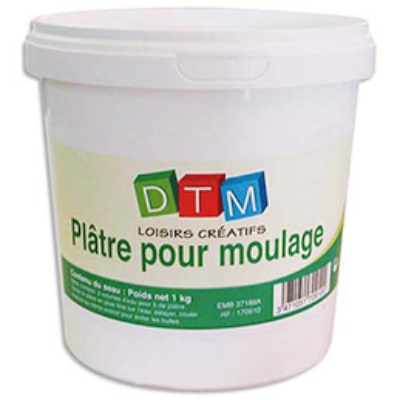 Boîte de 1kg de plâtre de moulage (photo)