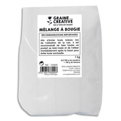 sachet de 1 kg de paraffine blanche pour fabriquer des bougies achat pas cher. Black Bedroom Furniture Sets. Home Design Ideas