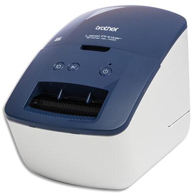 Imprimante d'étiquettes bleue QL600BXX1 Brother