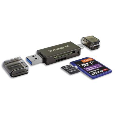 Lecteur de carte USB 3.0 Integral (photo)
